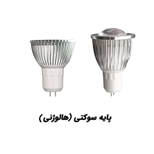 لامپ رشد گیاه با پایه هالوژنی