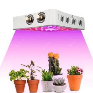 پروژکتور رشد گیاه با سیستم خنک کنندگی برای افزایش طول عمر لامپ های ال ای دی رشد گیاه