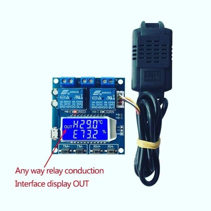 سنسور کنترلر دما و رطوبت گلخانه
