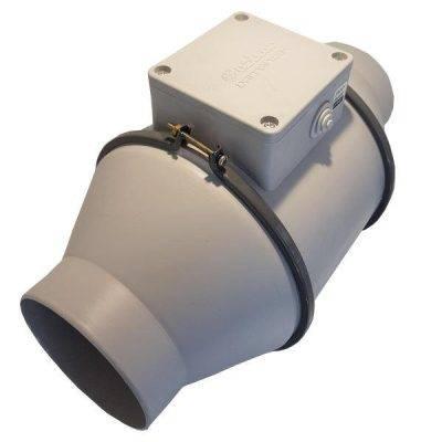 فیلتر کربن 50 سانتی به همراه فن بین کانالی دمنده ( با دهانه 15 سانتی متر)